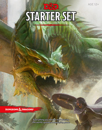 Dungeons & Dragons Starter Set (Six Dice, Five Ready-to-Play D&D Characters With Character Sheets, a Rulebook, and One Adventure) by Wizards RPG Team