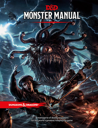 Dungeons & Dragons Monster Manual (Core Rulebook, D&D Roleplaying Game) by Wizards RPG Team