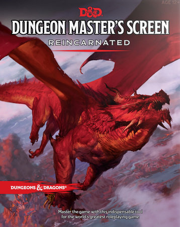 Dungeon Master's Screen Reincarnated by Wizards RPG Team