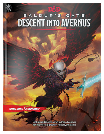 Dungeons & Dragons Baldur's Gate: Descent Into Avernus Hardcover Book (D&D Adventure) by Wizards RPG Team