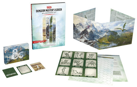 Dungeons & Dragons Dungeon Master's Screen Wilderness Kit (D&D Accessories) by Wizards RPG Team