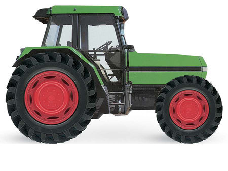 Tractor by DK