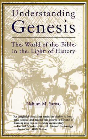 Understanding Genesis by Nahum M. Sarna