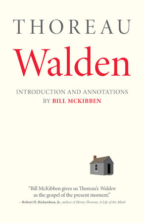 Walden: With an Introduction and Annotations by Bill McKibben by Henry David Thoreau