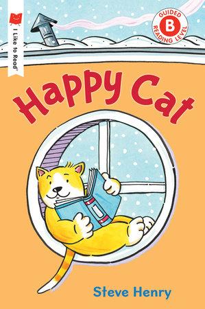 Happy Cat by Steve Henry