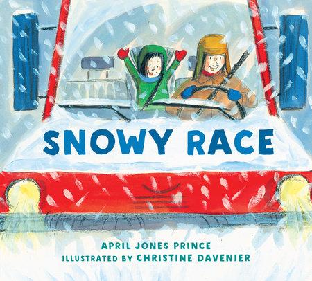 Snowy Race by April Jones Prince