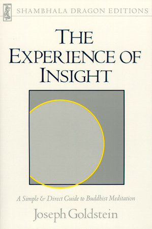 The Experience of Insight by Joseph Goldstein