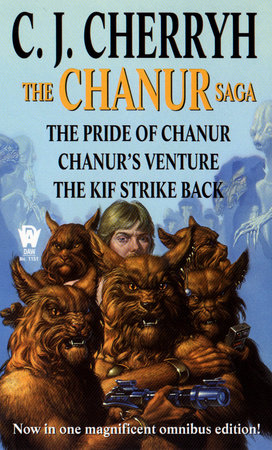 The Chanur Saga by C. J. Cherryh