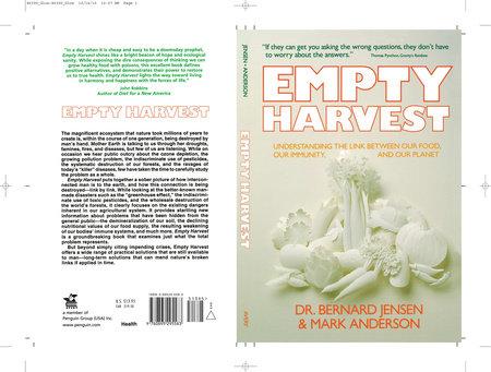 Empty Harvest by Dr. Bernard Jensen