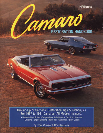 Camaro Restoration Handbook by Ron Sessions