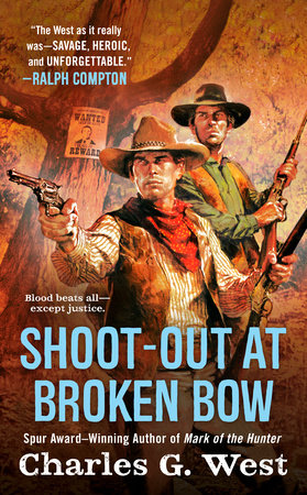Shoot-out at Broken Bow by Charles G. West