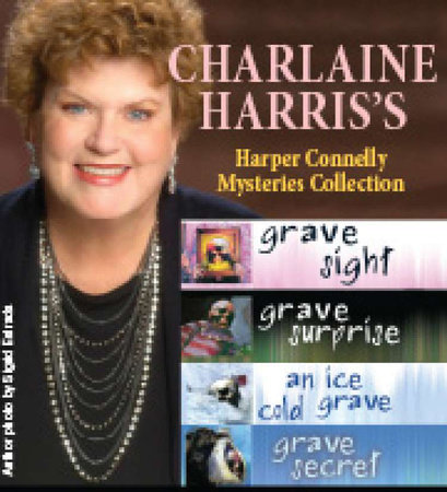 Harper Connelly Mysteries Quartet by Charlaine Harris