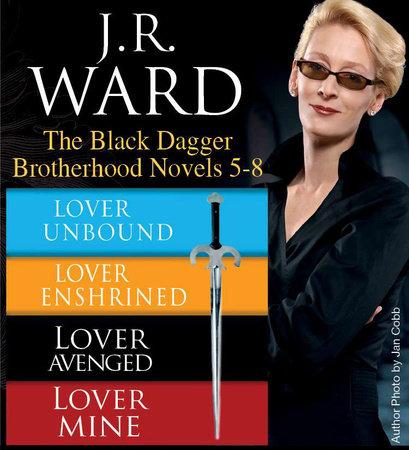 J.R. Ward The Black Dagger Brotherhood Novels 5-8 by J.R. Ward