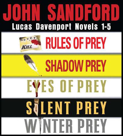 John Sandford Lucas Davenport Novels 1-5 by John Sandford