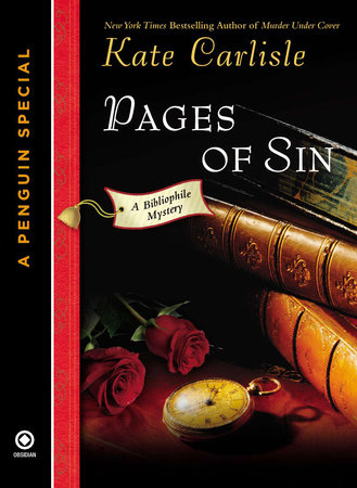 Pages of Sin by Kate Carlisle