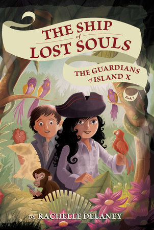 The Guardians of Island X #2 by Rachelle Delaney; Illustrated by Gerard Guerlais
