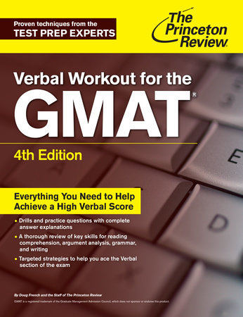Verbal Workout for the GMAT, 4th Edition by The Princeton Review