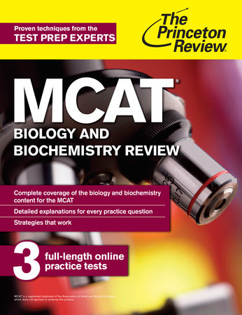 MCAT Biology and Biochemistry Review by The Princeton Review