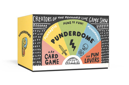 Punderdome by By daughter-father duo Jo and Fred Firestone, creators of Punderdome 3000!