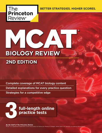 MCAT Biology Review, 2nd Edition by The Princeton Review