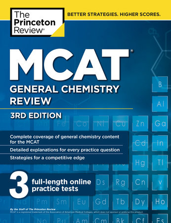 MCAT General Chemistry Review, 3rd Edition by The Princeton Review