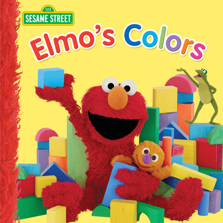 Elmo's Colors (Sesame Street) by Naomi Kleinberg