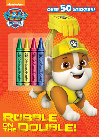 Rubble on the Double! (Paw Patrol) by Golden Books