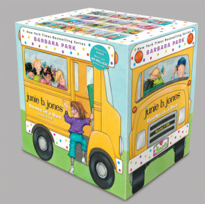 Junie B. Jones Books in a Bus