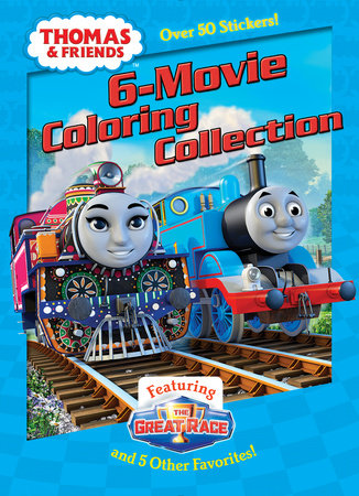 Thomas & Friends 6-Movie Coloring Collection (Thomas & Friends) by Golden Books