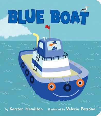 Blue Boat by Kersten Hamilton