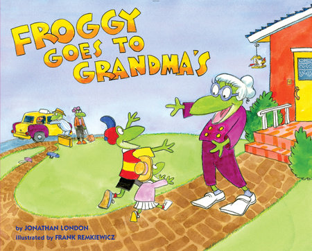 Froggy Goes to Grandma's by Jonathan London