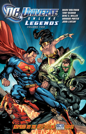 DC Universe Online Legends Vol. 2 by Tony Bedard and Marv Wolfman