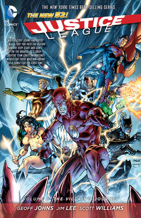 Justice League Vol. 2: The Villain's Journey (The New 52) by Geoff Johns