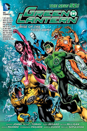Green Lantern: Rise of the Third Army (The New 52) by Geoff Johns