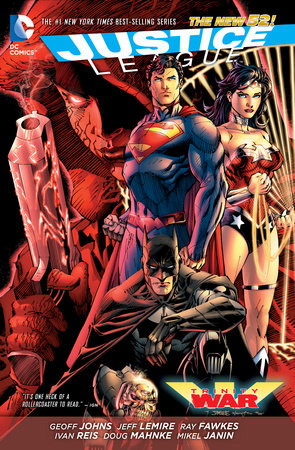 Justice League: Trinity War (The New 52) by Geoff Johns and Jeff Lemire