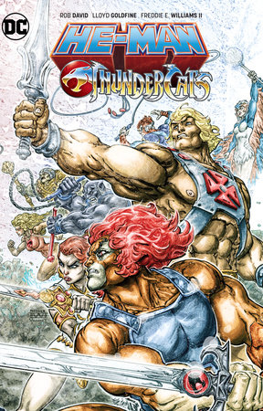 He-Man/Thundercats by Rob David and Lloyd Goldfine