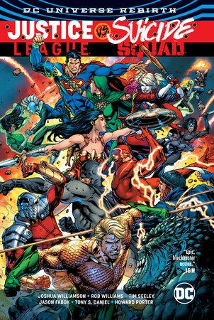 Justice League vs. Suicide Squad by Joshua Williamson