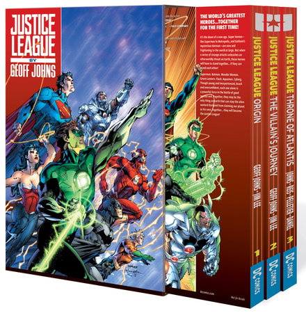 Justice League by Geoff Johns Box Set Vol. 1 by Geoff Johns