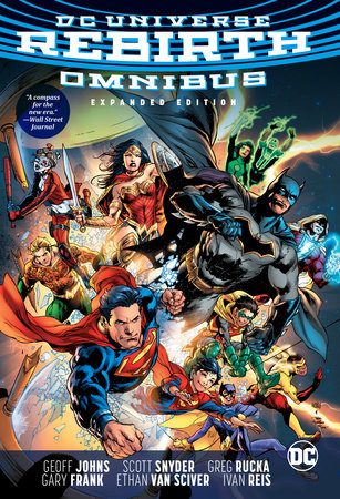 DC Rebirth Omnibus Expanded Edition by Various