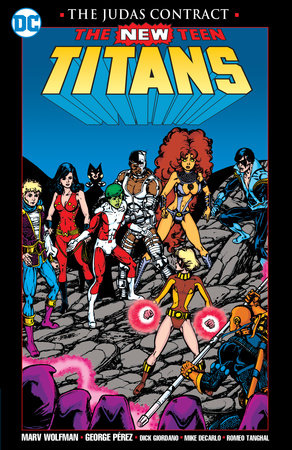 New Teen Titans: The Judas Contract New Edition by Marv Wolfman