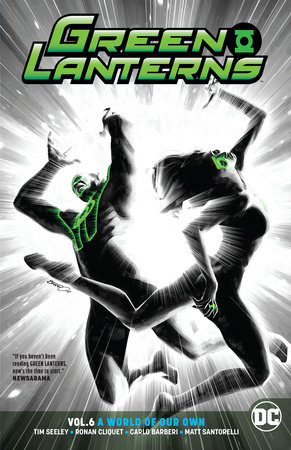 Green Lanterns Vol. 6: A World of Our Own by Tim Seeley