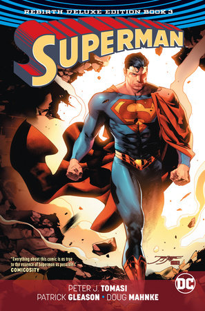 Superman: The Rebirth Deluxe Edition Book 3 by Peter J. Tomasi and Patrick Gleason