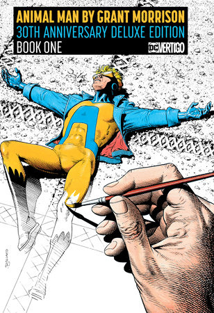 Animal Man by Grant Morrison 30th Anniversary Deluxe Edition Book One by Grant Morrison