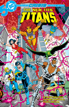 New Teen Titans Vol. 10 by Marv Wolfman