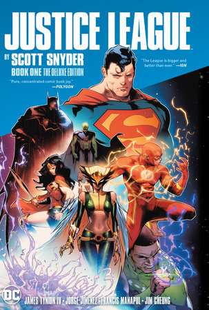 Justice League by Scott Snyder Book One Deluxe Edition by Scott Snyder