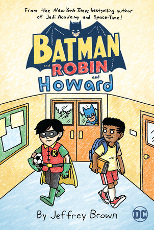 Batman and Robin...and Howard by Jeffrey Brown