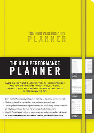 The High Performance Planner [Yellow] by Brendon Burchard