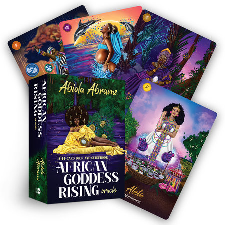 African Goddess Rising Oracle by Abiola Abrams