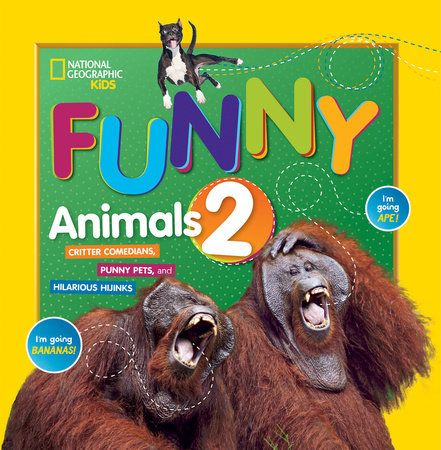Just Joking Funny Animals 2 by National Geographic, Kids