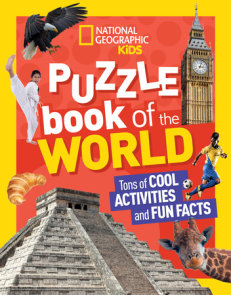 National Geographic Kids Puzzle Book of the World